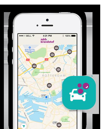 Alle carwashstations in Nederland met MKB Brandstof app