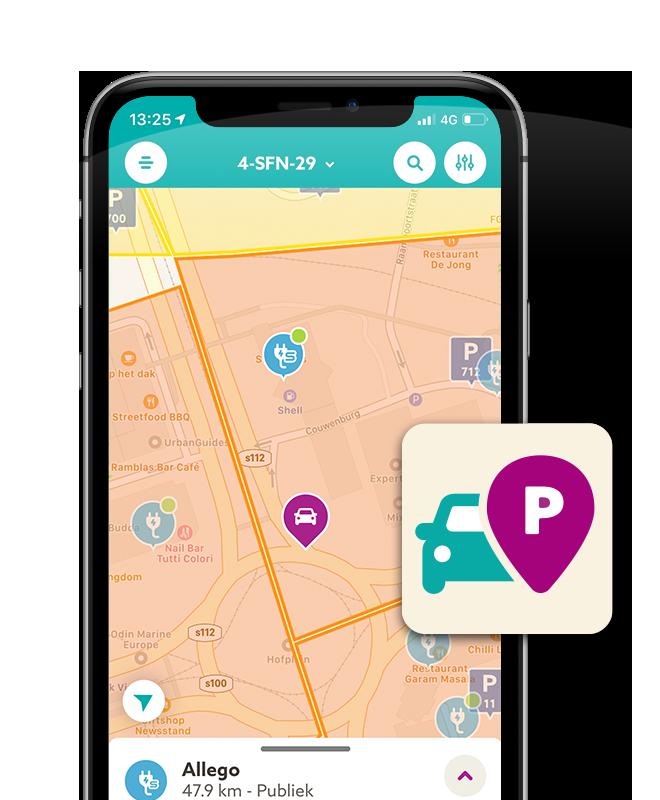 Parkeren & laden met MKB Brandstof app