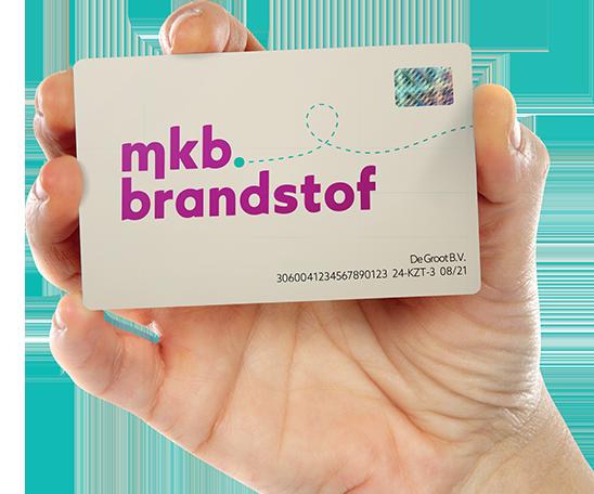 Gebruik de autopas van MKB Brandstof